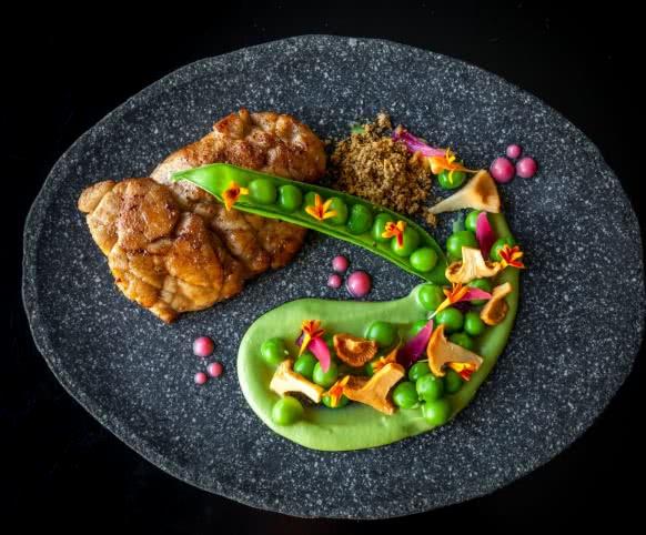 Restaurant autour de Chaumont - Ris de Veau ©Julie-Limon2016