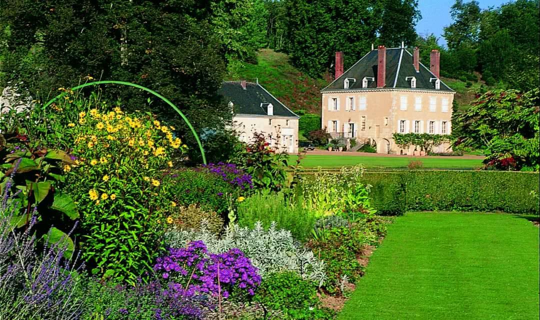 Jardin du Plessis Sasnières en Vendômois - Vacances dans les jardins insolites du Val de Loire Loir-et-Cher Val de Loire ©CDT41