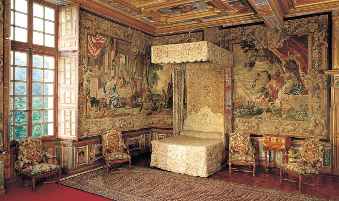 Chambre du Roi - Château de Cheverny ©Valoire