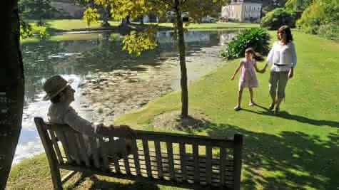 Jardin Plessis Sasnière - Jardins insolites du Val de Loire en Loir-et-Cher - Vacances en vallée de la Loire ©J.Damase CRT Centre-Val de Loire