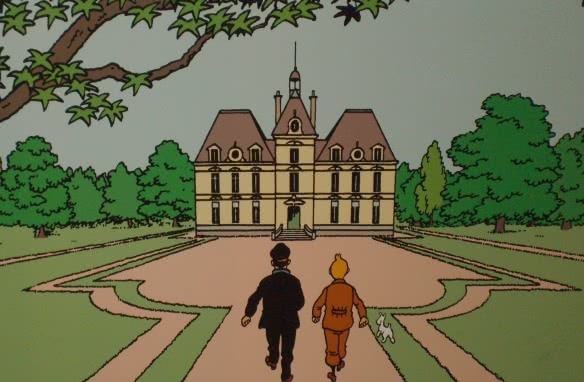 Chateau Cheverny - Exposition Tintin ©CDT 41 - albedouet