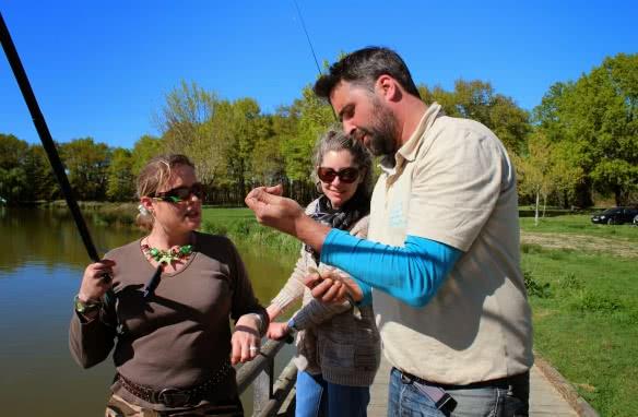 Animation pêche avec la fédération de Pêche en Loir-et-Cher Val de Loire ©Federation-Peche41
