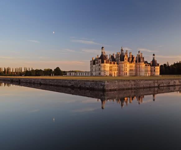 Château de Chambord en Loir-et-Cher Val de Loire ©CDT41-L.D.Serres