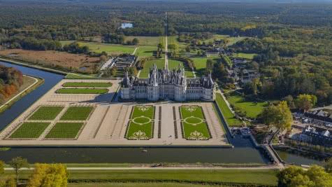 Château de Chambord en Loir-et-Cher Vallée de Loire ©HéliPassion