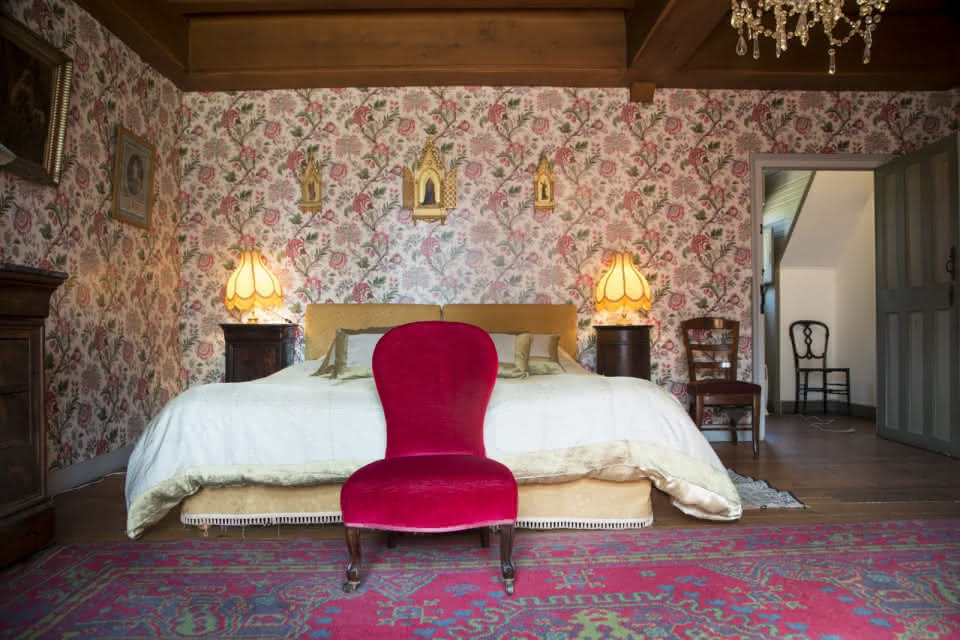 Loir-et-Cher Val de Loire - Hébergements - Chambre au château de Troussay à Cheverny ®MirPhoto