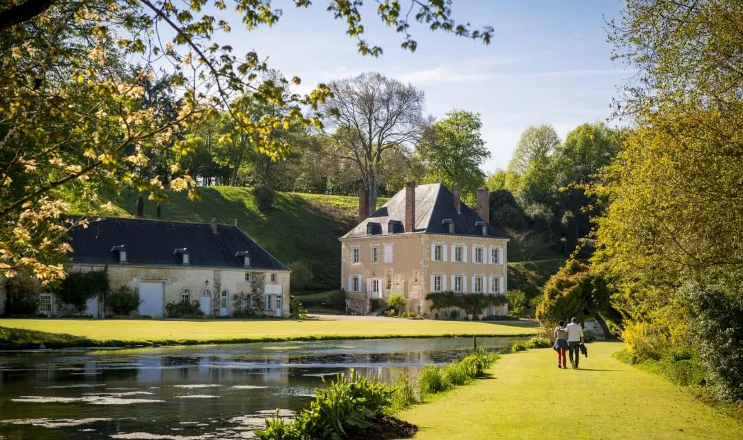 Jardin Remarquable du Plessis Sasnieres - Sortie bucolique en Loir-et-Cher Val de Loire ©Cyril Chigot - Conseil départemental 41