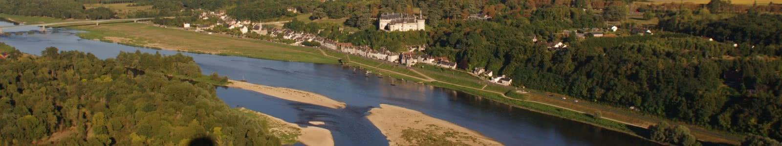 La Loire et le château de Chaumont-sur-Loire ©ADT41-T-Savoir