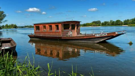 Loir-et-Cher Val de Loire - Hébergements - Toue cabanée sur la Loire @L.Alvarez-16