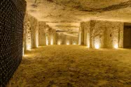 Les caves Monmousseau - Villages troglodytiques Val de Loire Loir-et-Cher ©Caves Monmousseau