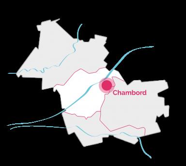 Val de Loire - Loir-et-Cher Tourisme - Vacances en famille - Carte Chambord