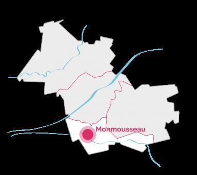 VDL - Carte - Monmousseau