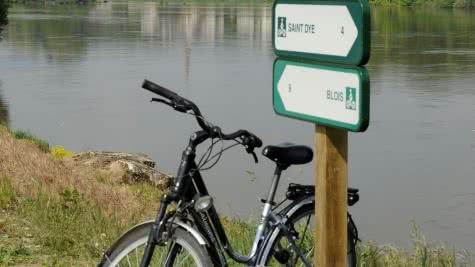 Vacances à vélo en Loir-et-Cher - Vue sur Cour-sur-Loire depuis les itinéraire Loire à Vélo à Montlivault ©JDAMASE-CRT-CENTRE-VAL-DE-LOIRE