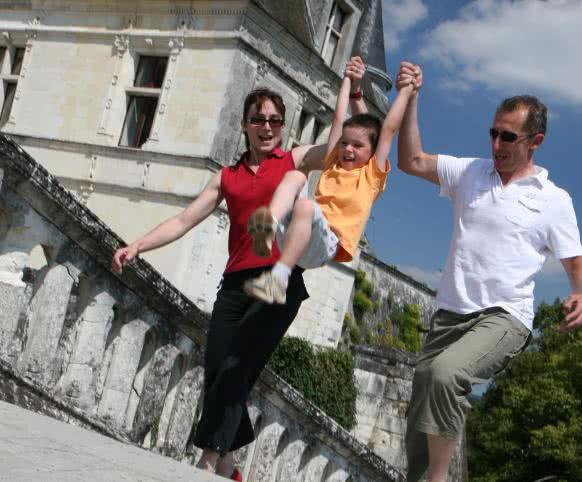 Vacances en famille en Loir-et-Cher Val de Loire ©CDT41-Enola