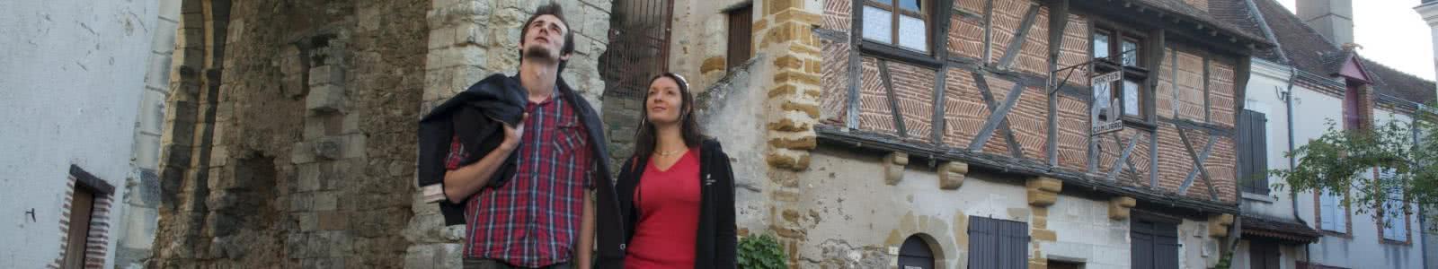 Visite du village médiéval de Mennetou-sur-Cher en Sologne ©CDT41-Mirphoto2012