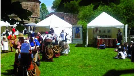 La Commanderie Templière d'Arville - Marché médiéval ©Commanderie d'Arville