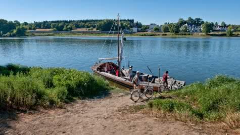 Bac sur la Loire