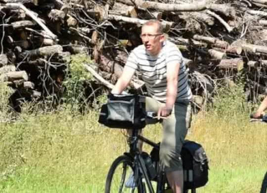 Vacances à vélo - itinéraire cyclable en Sologne ©J.Damase-ADT41