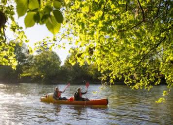 Canoë en vallée du Cher ©Cyril Chigot - Conseil Départemental 41