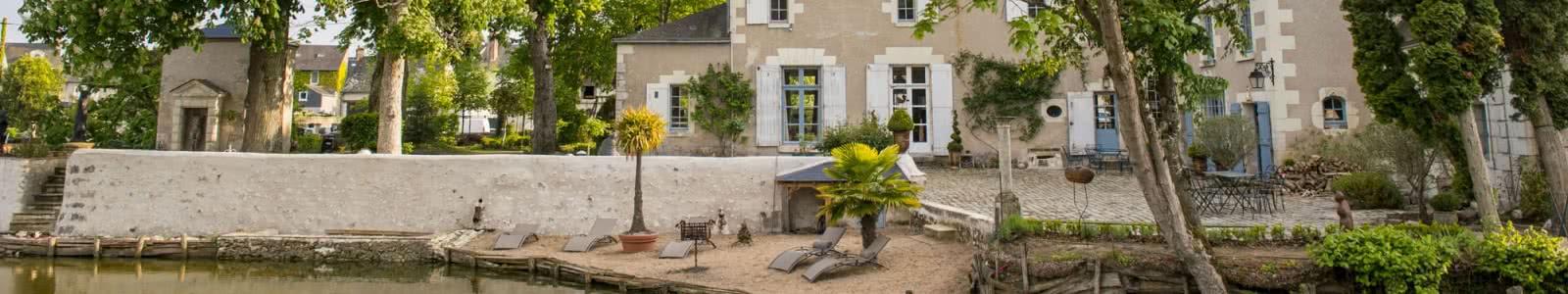 Chambres d'hôtes Les Douves - Vacances en Loir-et-Cher Val de Loire ©Cyril-Chigot-Conseil-Departemental-41