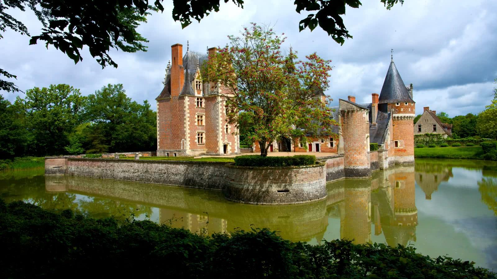 Le château du moulin en Sologne