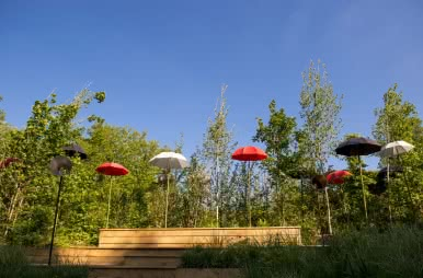 idées de sortie de juin en Loir-et-Cher - Chaumont-sur-Loire - Jardins insolites du Val de Loire Loir-et-Cher ©Cyril Chigot Département41