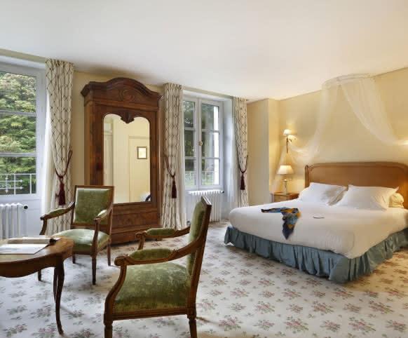 Hôtel Château de La Rozelle - Vacances en Chambre Prestige en Loir-et-Cher Val de Loire ©P-Brocault