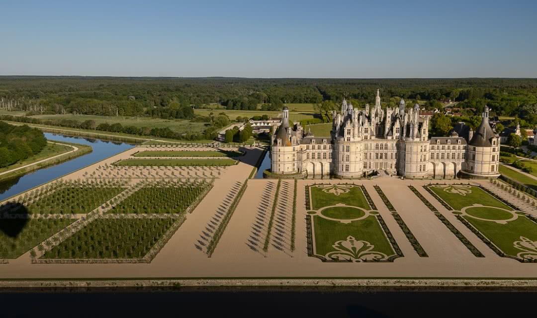 Château de Chambord - Jardins à la Française - 500 ans Renaissance ©Léonard de Serre