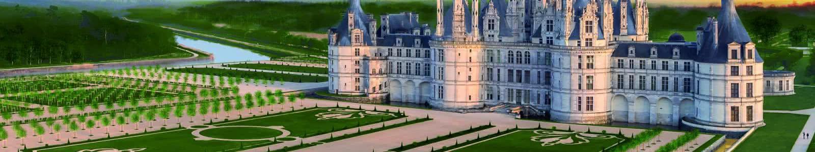 Jardins de Chambord ©Domaine national de Chambord