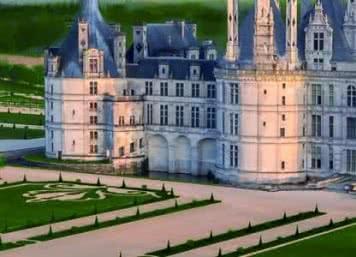 Jardins de Chambord - Vol en montgolfière, ULM ou hélicoptère au-dessus des châteaux de la Loire - Vacances insolites en Loir-et-Cher Val de Loire©Domaine national de Chambord