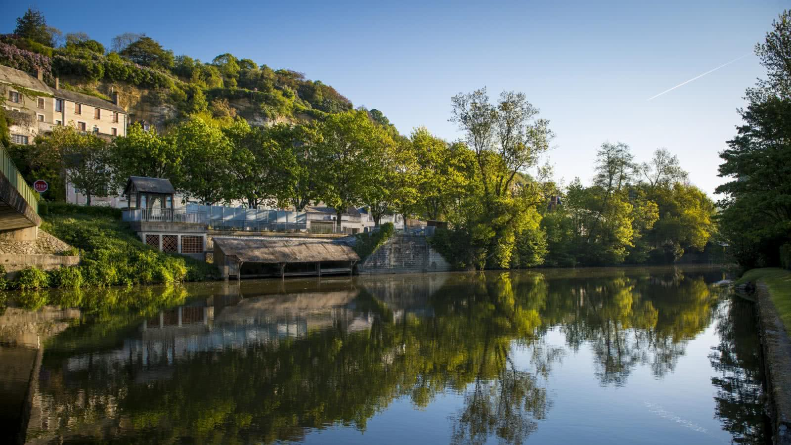 Le Loir - Trôo - Villages troglodytiques de Loir-et-Cher en Val de Loire ©Cyril Chigot - Conseil départemental 41