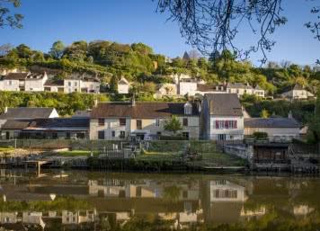 Le Loir - Villages troglodytiques de Trôo Lavardin en Vendômois - Découverte nature et insolite en Loir-et-Cher Val de Loire ©Cyril Chigot - Conseil départemental 41