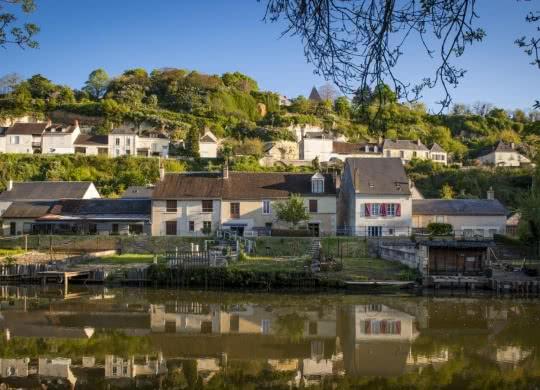Le Loir - Village Trôo ©Cyril Chigot - Conseil départemental 41