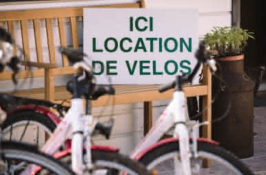 Location de vélo au camping nature L'Heureux Hasard de Contres - Vacances à vélo en Loir-et-Cher Val de Loire ©L'Heureux Hasard