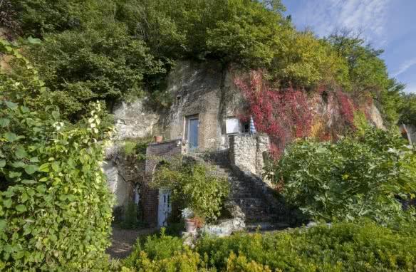 Le Loir - Trôo - Villages troglodytiques de Loir-et-Cher en Val de Loire ©JPh - Tesson - ADT 41
