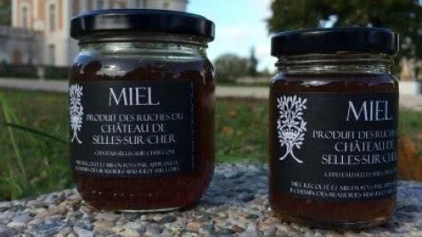Le miel du château de Selles-sur-Cher - Vacances gourmandes en Loir-et-Cher Val de Loire ©Château de Selles-sur-Cher