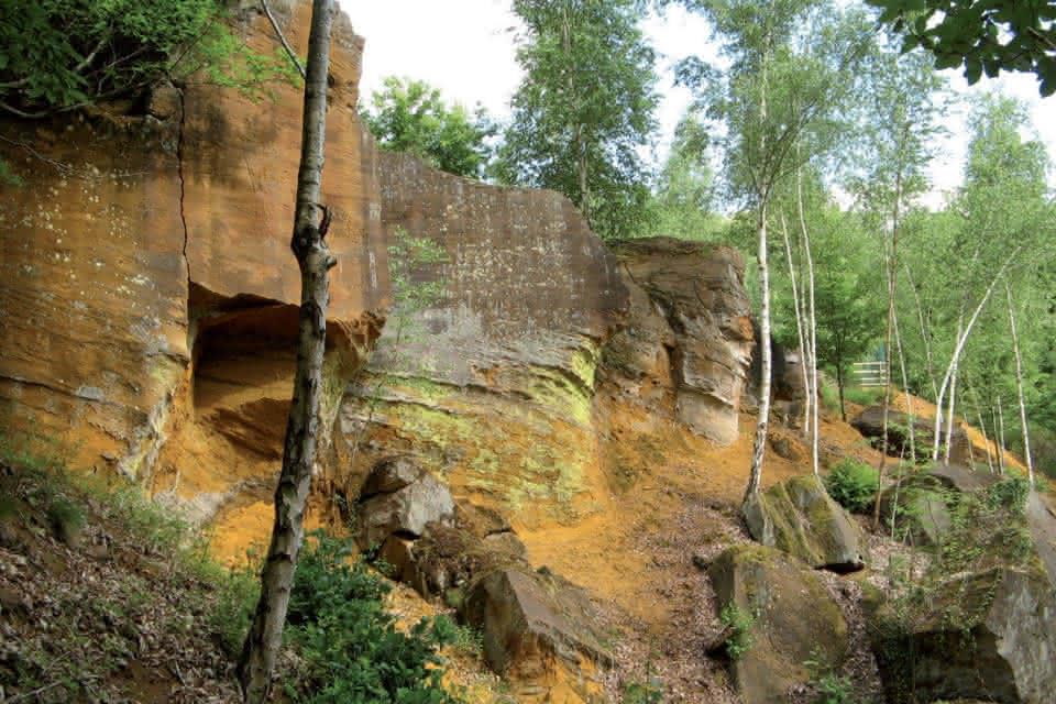 La Pierre de Roussard - Vacances découvertes nature en Vendômois ©CDPNE41