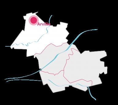 VDL-Carte - Arville