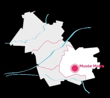 VDL - Carte - Musee - Matra
