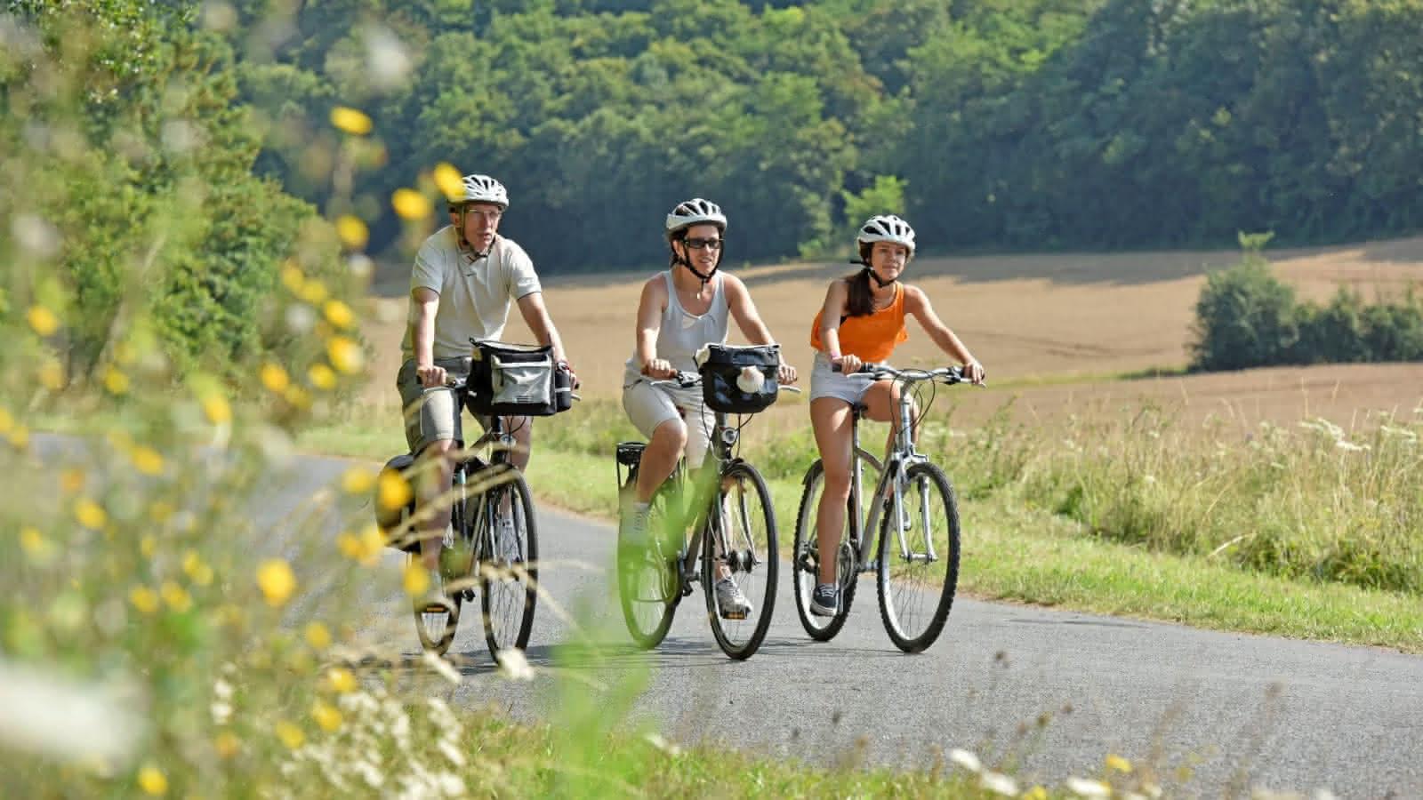 Véloroute - St-jacques Lavardin - Vacances à vélo Loir-et-Cher ©J-Damase - ADT 41