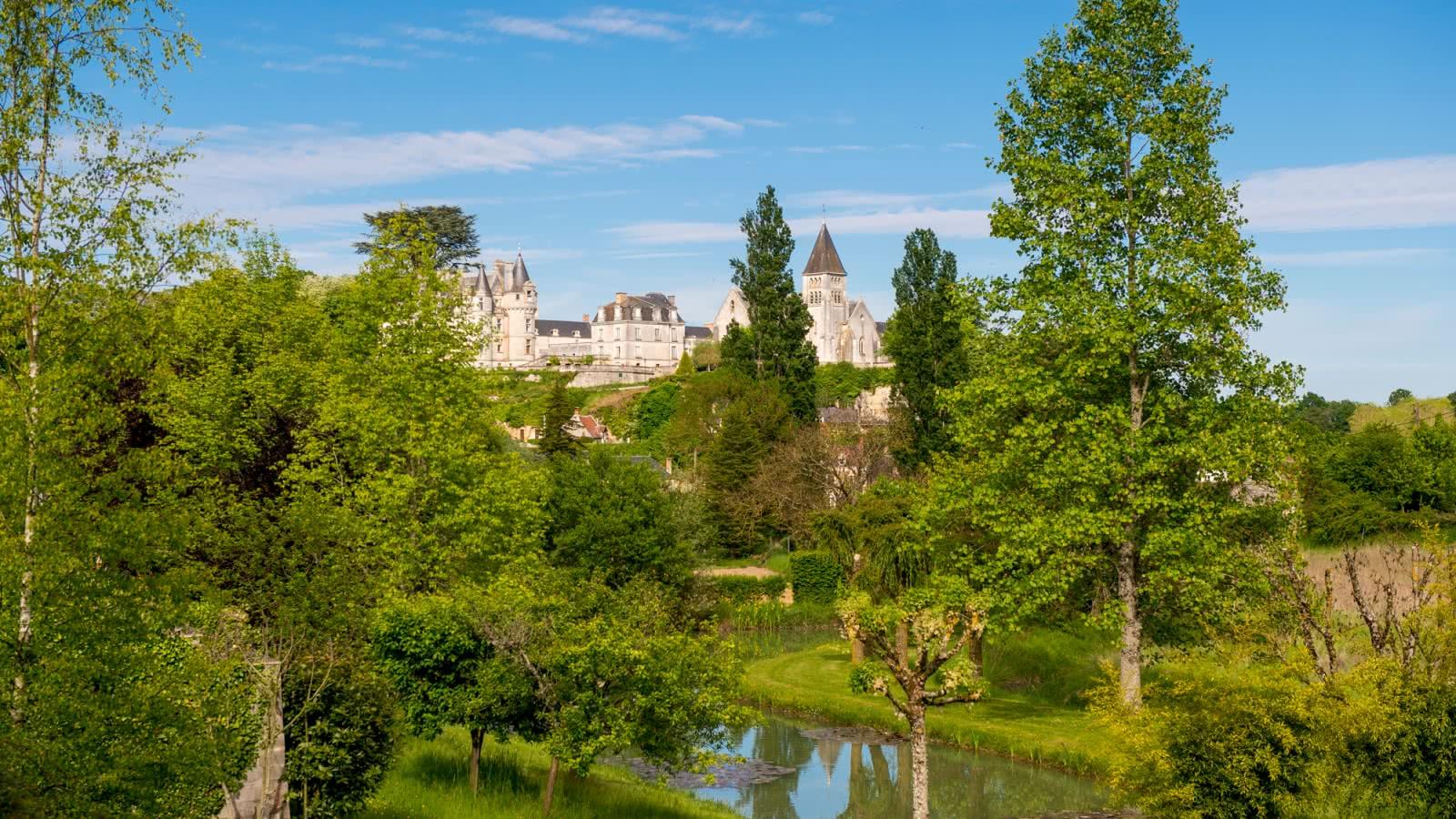 Village de Châteauvieux en vallée du Cher - Vacances en Loir-et-Cher ©Cyril Chigot - Conseil Départemental 41