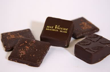 Les bonbons de chocolats de Max Vauché - Vacances gourmandes en Loir-et-Cher Val de Loire ©CDT41-mvauche