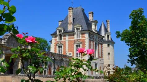 Le château de Selles-sur-Cher en vallée du Cher - Vacances en Val de Loire Loir-et-Cher ©CDT41-nbrunet