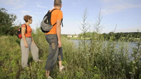 Balade randonnée pédestre le long de la Loire - Vacances nature en Loir-et-Cher - 20 ans du classement Unesco du Val de Loire ©CDT41-468media-jptesson