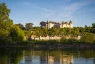 Château de Chaumont-sur-Loire et son festival international des jardins ©C.Chigot - Conseil départemental 41