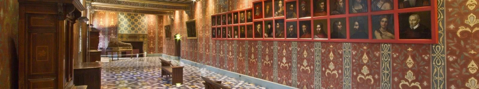 Château Royal de Blois - galerie de la reine - Vacances royales en Loir-et-Cher Val de Loire © T. Bourgoin