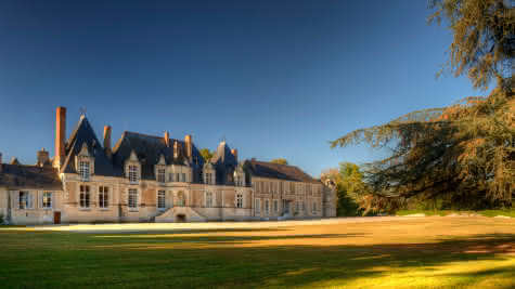 Château de Villesavin à Tour-en-Sologne en Vallée de la Loire Loir-et-Cher ©Léonard de Serres