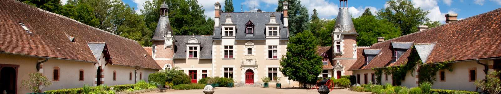 Château de Troussay - Vacances en Loir-et-Cher Vallée de Loire