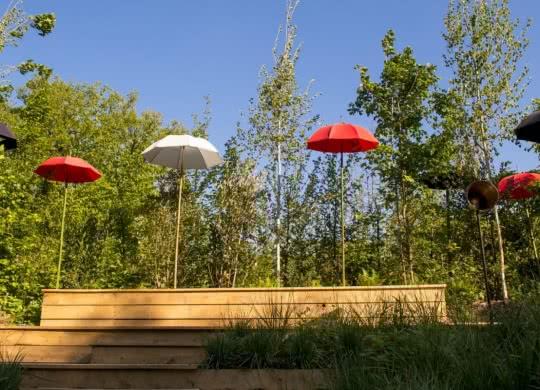 Festival international des Jardins de château de Chaumont-sur-Loire - Jardins insolites du Val de Loire Loir-et-Cher ©C.Chigot - Conseil départemental 41