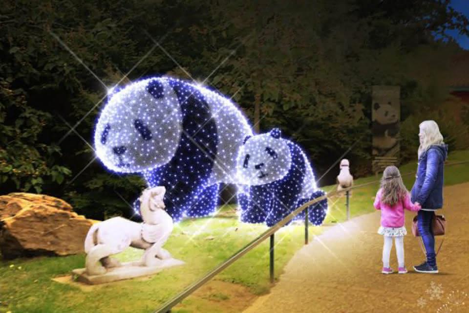 Noël au ZooParc de Beauval - Vacances magiques en famille en Loir-et-Cher Val de Loire ©ZooParc de Beauval