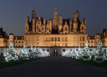 Noël au château de Chambord - Vacances en famille en Loir-et-Cher Val de Loire ©Léonard de Serres